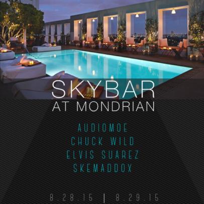 This weekend at Skybar