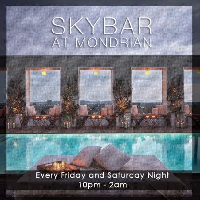 Skybar at Mondrian, LA