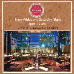Sadie Kitchen and Lounge, LA